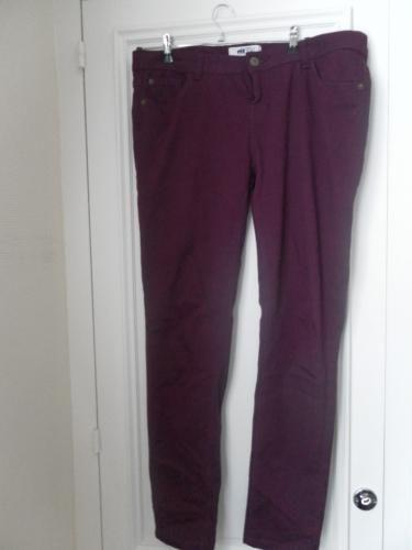 Forum Dukan : pantalon new look couleur prune t44 5