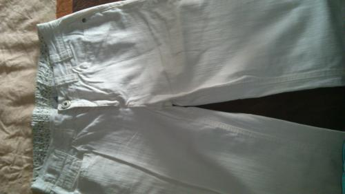 Forum Dukan : jeans jacqueline riu blanc taille 40 neuf 3