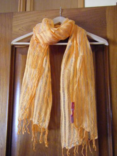 Forum Dukan : foulard orange jamais portee 3 euros