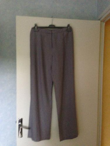Forum Dukan : article 2 pantalon t40 gris claire 100 lin gris clair