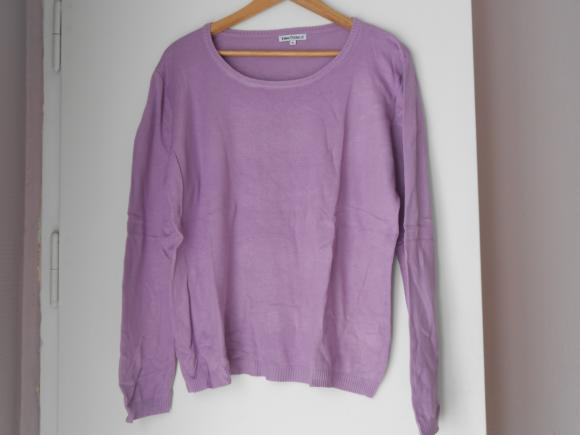 Forum Dukan : pull mauve leger taille 4 3 euros