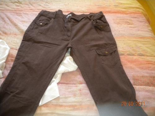 Forum Dukan : pantalon marron 6 taille 54