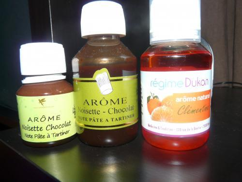 Forum Dukan : bonjour je vend des aromes clementine dukan 115ml 06 12 chocolat noisette note pate a tartiner fee regime 115ml 06 12 ou 58 ml 08 12