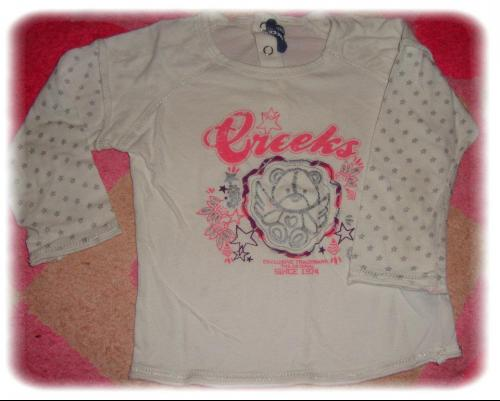 Forum Dukan : tee shirt creeks taille 24m 4 fdp