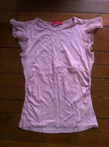 Forum Dukan : tee shirt stretch rose alain manoukian taille 40 rose pale bon etat