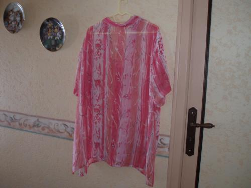 Forum Dukan : tunique mouisseline rose taille 58 pris 4 euros tel 0553973057 mail nene marie orange fr
