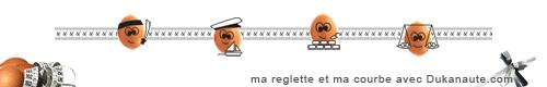 Ma Courbe et ma Réglette avec Dukanaute