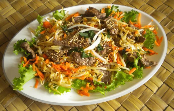 salade chinoise au boeuf recette dukan pl par valerievvv recettes et forum dukan pour le. Black Bedroom Furniture Sets. Home Design Ideas