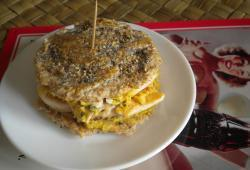 Photo Dukan Burger express au poulet