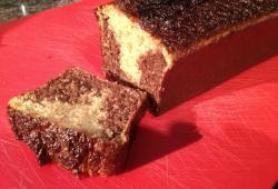 Recette Dukan : Cake aux sons d�licieux marbr� chocolat coco