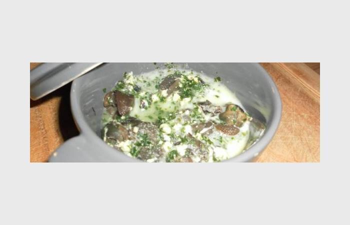 escargot à l'ail recette