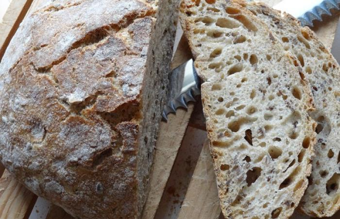 healthy bread pain complet aux om ga 3 sans map ni p trissage recette dukan conso par. Black Bedroom Furniture Sets. Home Design Ideas
