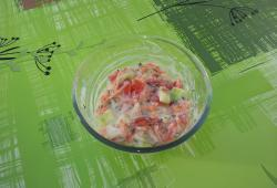Recette Dukan : Salade Tahitienne