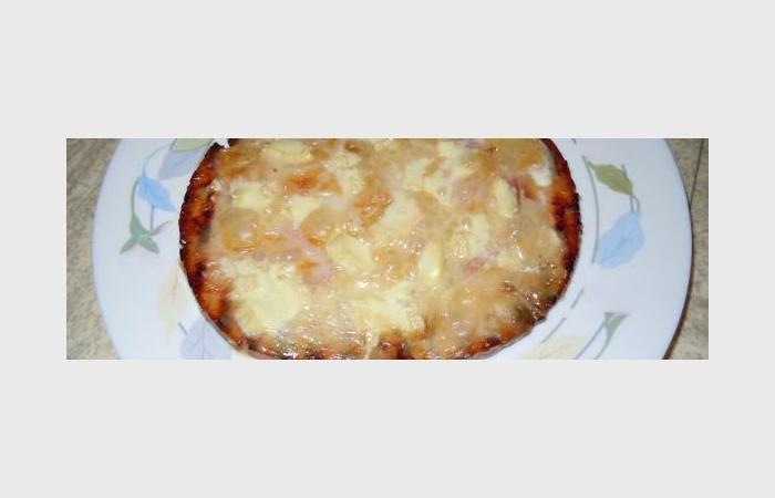 Pizza grossement amaigrissante recette dukan pp par for Proteine amaigrissante