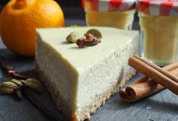Photo Dukan Creamy cheesecake (au fromage blanc de brebis)