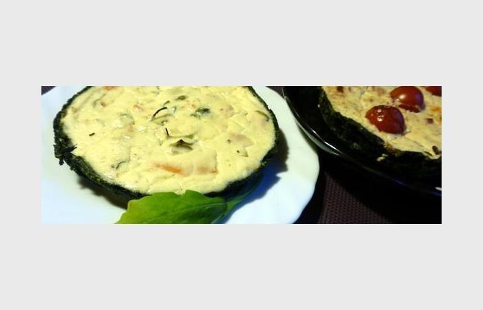 Popeye-Pie - tarte au chèvre sur fond d'épinards, recette Dukan PL ...