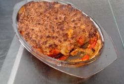 Recette Dukan : Crumble courgettes/ tomate tofu