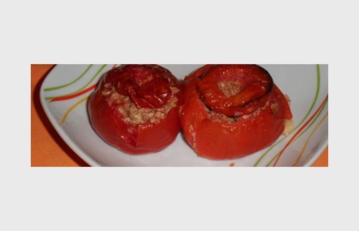 Tomates farcies à la volaille, recette Dukan PL par ...