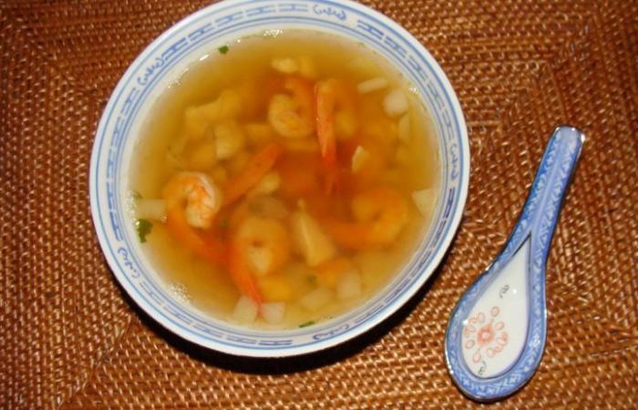soupe japonaise recette dukan pp par melusyna recettes et forum dukan pour le r gime dukan. Black Bedroom Furniture Sets. Home Design Ideas