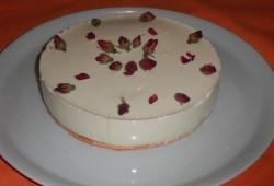 Photo Dukan Cheese cake à la rose