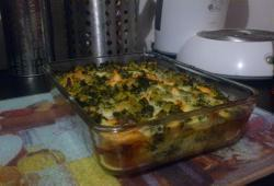 Photo Dukan Gratin de brocoli et saumon