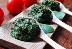 Photo Dukan Pesto maison (alla Genovese ou presque)