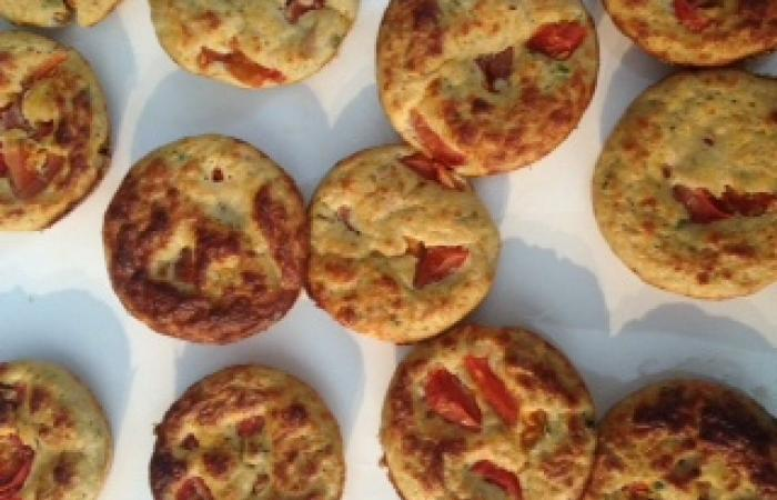 Régime Dukan (recette minceur) : Muffins tomato-thon #dukan http://www.proteinaute.com/recette-muffins-tomato-thon-11480.html