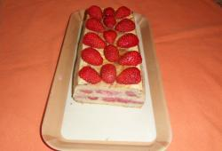 Photo Dukan Terrine de pain perdu aux fraises