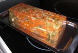 Photo Dukan Aspic de légumes au surimi