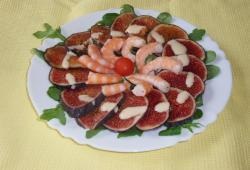 Photo Dukan Carpaccio de figues