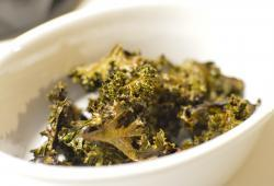 Photo Dukan Chips de chou kale