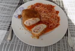 Photo Dukan Cordon bleu roulé