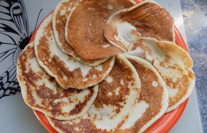 Régime Dukan (recette minceur) : Crèpes proteines pures #dukan http://www.proteinaute.com/recette-crepes-proteines-pures-11873.html
