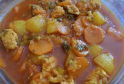 Photo Dukan Ragout de Poulet - Merguez