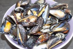 Photo Dukan Moules au roquefort