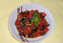 Photo Dukan Ratatouille à la plancha
