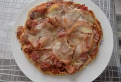 Photo Dukan Pizza jambon/bacon