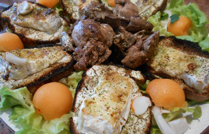 Régime Dukan (recette minceur) : Salade campagnarde #dukan http://www.proteinaute.com/recette-salade-campagnarde-12117.html