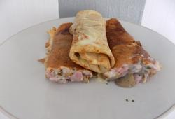 Photo Dukan Crepes champignons/jambon