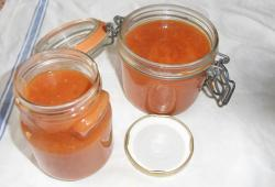 Photo Dukan Coulis de tomates et courgettes au basilic