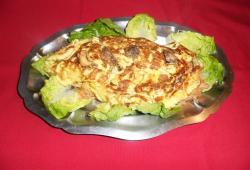 Photo Dukan Omelette farcie aux coulemelles