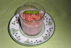 Photo Dukan Verrine de figue fraîche au saumon