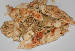 Photo Dukan Escalopes de dinde sauce moutarde en grains