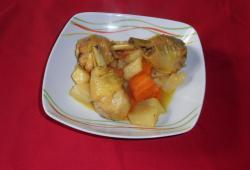 Photo Dukan Poulet aux navets