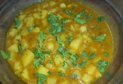 Photo Dukan Aloo Massala (recette indienne)