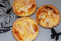 Photo Dukan Quiches au saumon