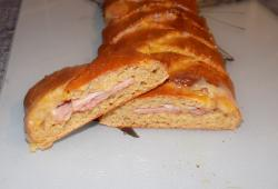 Photo Dukan Tresse jambon, bacon, fromage