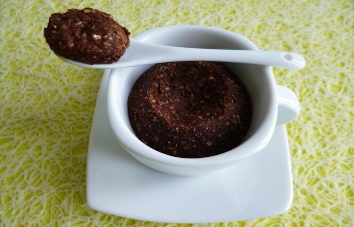 Mugcake Allégé Pomme Poire Chocolat Au Son D Avoine Et Au Psyllium