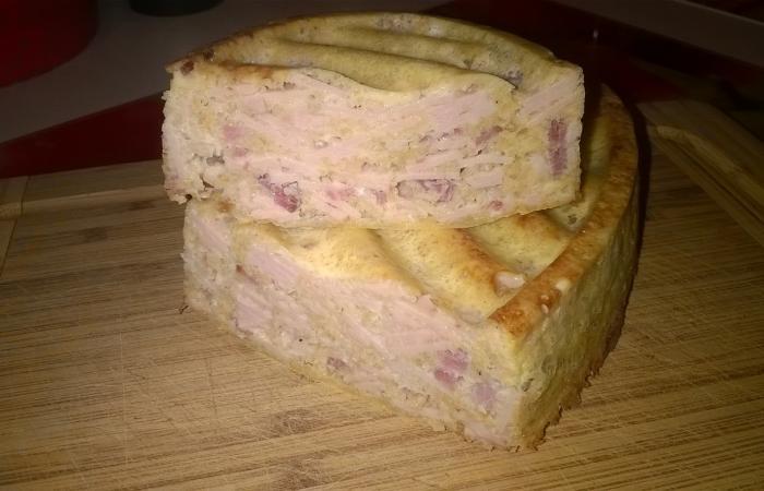 pain de jambon bacon recette dukan pp par vallyvalou recettes et forum dukan pour le r gime dukan. Black Bedroom Furniture Sets. Home Design Ideas