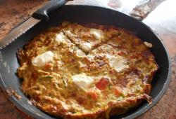 Photo Dukan Frittata tomate-courgette